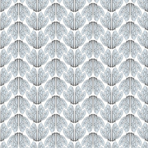 Wings of bees Pale blue