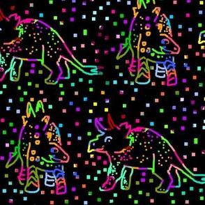 Custom Scratchboard Dino