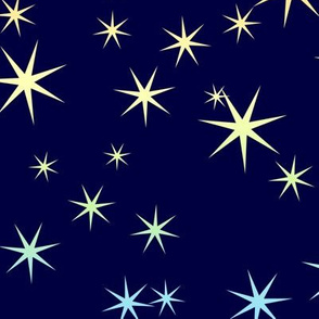 Seven-point Rainbow Stars 1