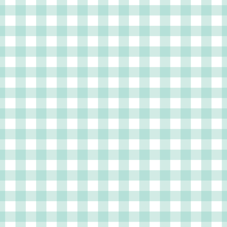 Mint Gingham fabric by mainsail_studio on Spoonflower - custom fabric