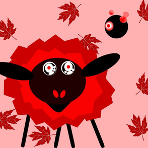 The Hypno Sheep with Crazed Robot Master- Red