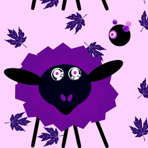 The Hypno Sheep with Crazed Robot Master- Purple