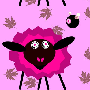 The Hypno Sheep with Crazed Robot Master- Pink