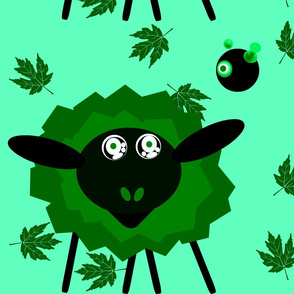 The Hypno Sheep with Crazed Robot Master- Green