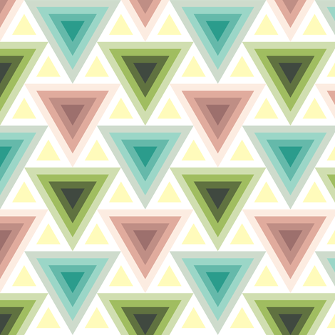triangles 2:1 in 4 fabric by sef on Spoonflower - custom fabric