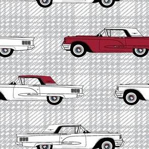 1960 Thunderbird Thunderbirds Tbird Tbirds Red/White Cars