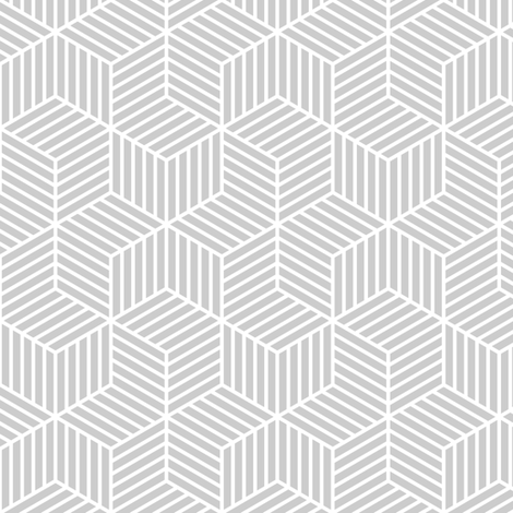 03900399 : chevron 6 bars : grey fabric by sef on Spoonflower - custom fabric