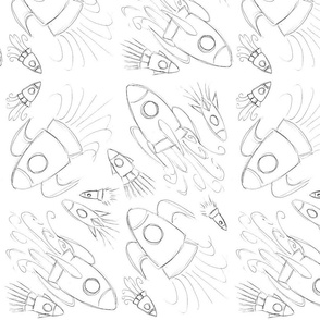 Sketchy Rockets
