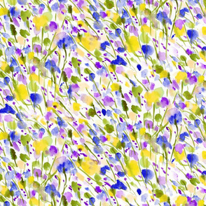 Wild Nature Purple Yellow