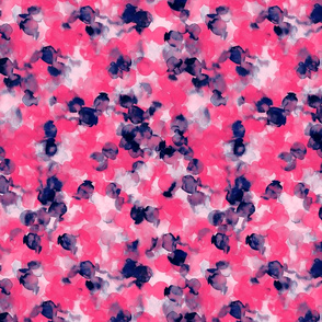 Filigree Pink Indigo Small Scale