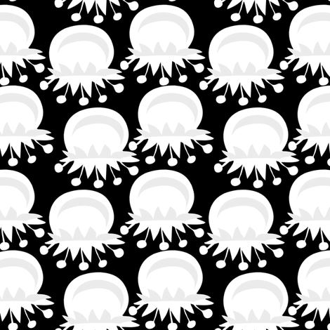Snow Berry fabric by mainsail_studio on Spoonflower - custom fabric