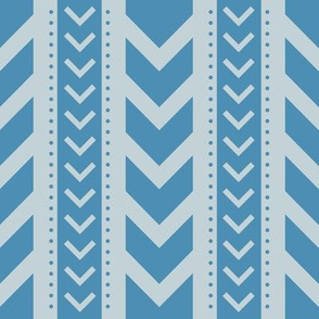 Chevron Blue
