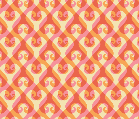 hearts entwined fabric by weavingmajor on Spoonflower - custom fabric