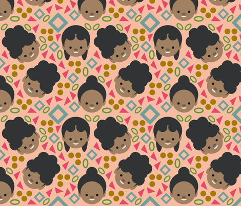 Totally Tubular fabric by mintparcel on Spoonflower - custom fabric