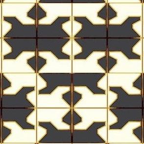 African Shield Diamanté