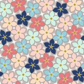 03902688 : S43 floral : a floral trend 1x6