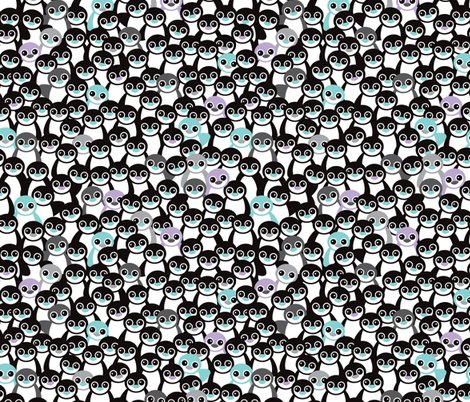 Cute Little Kids Pattern In Mint And Coral Adorable