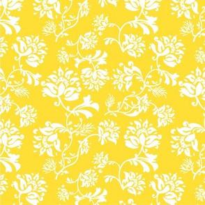 ditsy floral_lemon