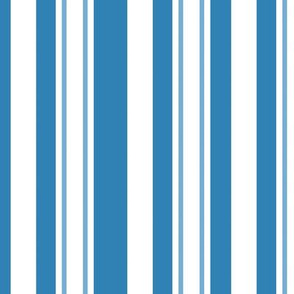 Mackinac Stripes Blue And White