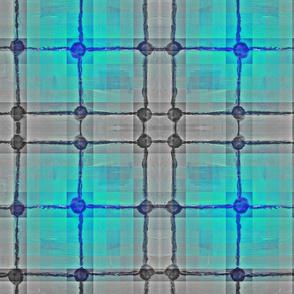 Flourescent Glow Blue Radius