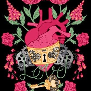 Anatomical Steampunk Love