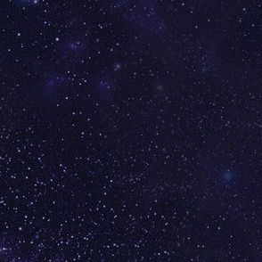 Dark Violet Starfield
