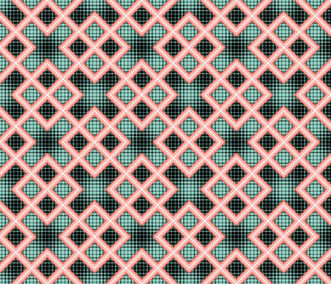 Plaids & Panes 04 fabric by anneostroff on Spoonflower - custom fabric
