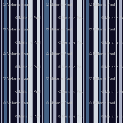 Rocket Stripes Blue