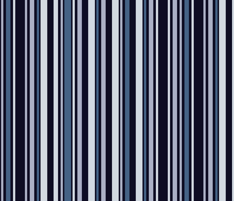Rocket Stripes Blue fabric by madex on Spoonflower - custom fabric