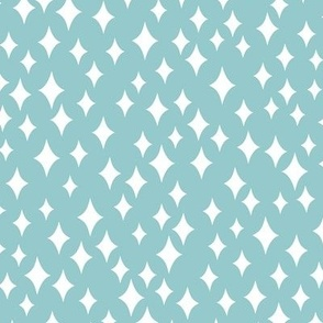 Diamond Sky (teal)
