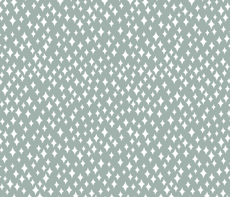 Diamond Sky (grey) fabric by studio_amelie on Spoonflower - custom fabric