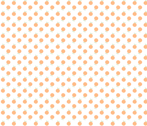 peaches fabric by nickwilljack on Spoonflower - custom fabric