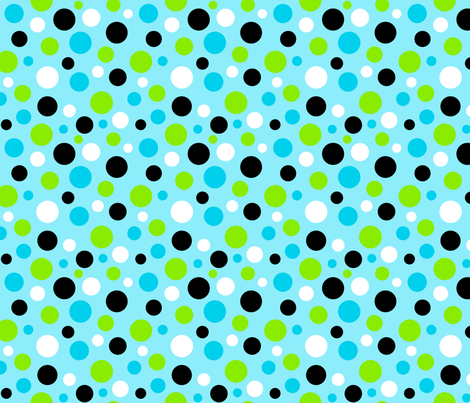 Panda Polka Dots fabric by bags29 on Spoonflower - custom fabric