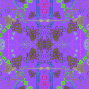 brooklyn/ manhattan tangle mix in purple