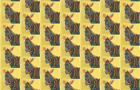 Zebra fabric by sweber on Spoonflower - custom fabric