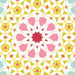 03907916 : UA5 V* : spring floral tiling