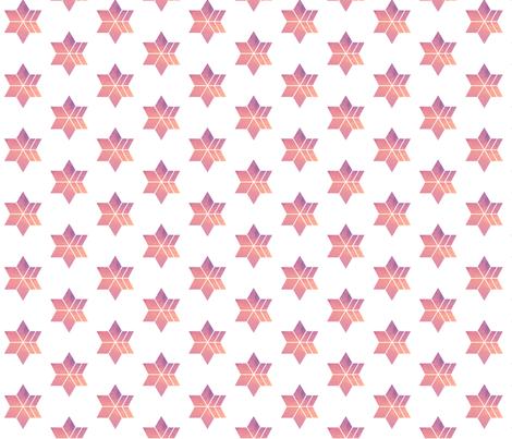 Blush Star Gazer fabric by andaubreywasstudio on Spoonflower - custom fabric