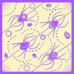Little Lavender Spiders