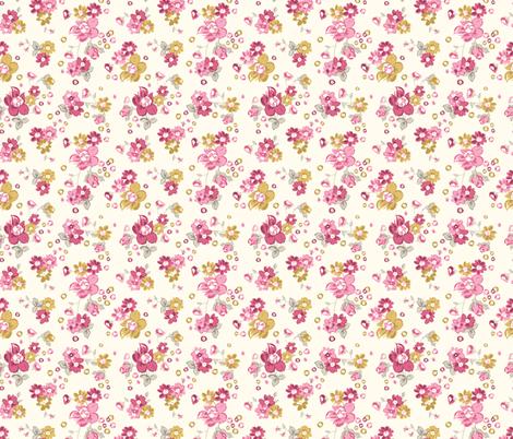 Floral Print fabric by angela_lloyd12 on Spoonflower - custom fabric
