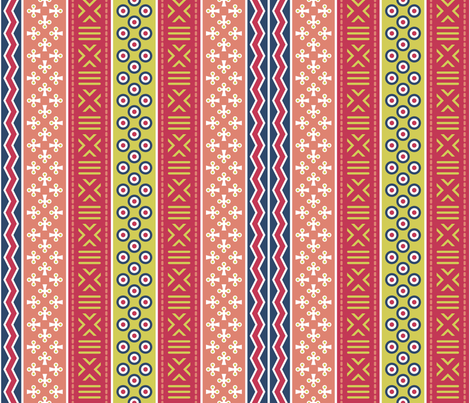 03909641 : mudcloth : matisse fabric by sef on Spoonflower - custom fabric