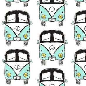 camper black turquoise - by MiaMea