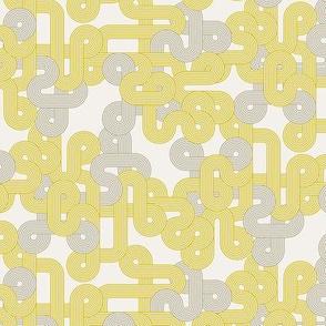 Geometric twist in mustard