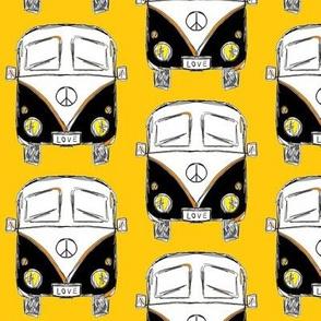 camper yellow black