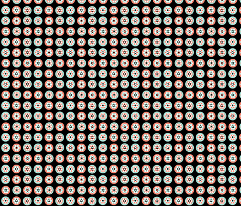 small beads on black fabric by squeakyangel on Spoonflower - custom fabric