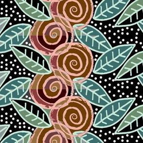 Frolicking Roses in Half-tones