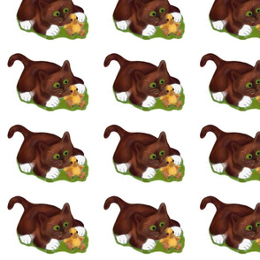 Brown_Tuxedo_Kitten_and_Duckling_are_Best_Friends_-_Spoonflower