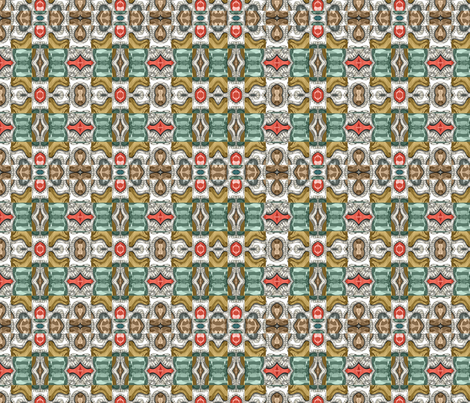 gemstones 2 fabric by kociara on Spoonflower - custom fabric