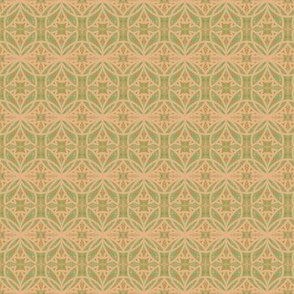 Memory Gardens Soft Peach Green