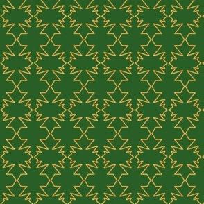 Maple Leaf String Crochet