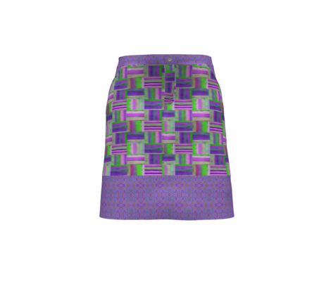 AZTEC STYLE CLOTHESPINS MAUVE